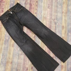7 FOR ALL MANKIND WOMENS DOJO JEANS SIZE 26W